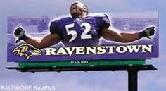 RavensTown billboard