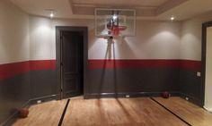 Indoor basketball courtmodern home gym, toronto Indoor Basketball Court, Basketball Goals, Girl Abs, Healthy Living Magazine, Gym Style, Girls Wardrobe, Sport Motivation, Sports Illustrated, Banner Design