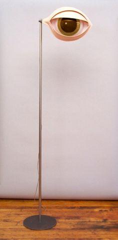 Nicola L's Peeping Eye Floor Lamp http://www.lightpublic.com/lighting-products/nicola-ls-peeping-eye-floor-lamp/