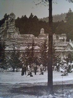 Convento del Desierto de los Leones. Foto de Guillermo Kahlo. Ciudad de México, 11 de abril de 1915.