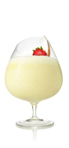 Strawberry colada cocktail  SVEDKA Vodka Cocktail – Drink recipes - STRAWBERRY COLADA COSMO ...
