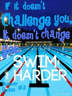 Swimmer Quotes on Pinterest | Swim Quotes, Swimmer Girl Problems ...