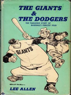 Guess some things never change! Vintage Baseball, The Giants & The Dodgers from Nick Harvill Libraries