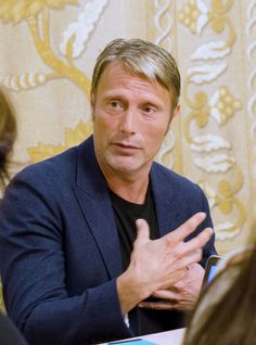 """""""It was quite a few scenes that I loved shooting. The great encounter I have with Benedict [Cumberbatch in the movie], which starts out with a long fight, and ends up with me making the speech that makes a lot of sense."""" Mads Mikkelsen, Doctor Strange, Kaesilius"""