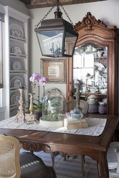 How To Use China Crystal And Silver Today French Country HouseFrench Dining RoomCountry Farmhouse