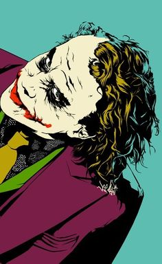 I love this. The Joker- Heath Ledger