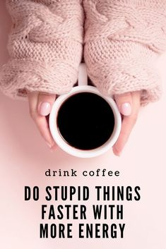 Drink coffee, do stupid things faster with more energy.  #coffeequotes  MommyOfManyHats.com Quotes Thoughts, Faith Quotes, Mind Thoughts, Mom Quotes, Christian Women, Christian Living, Christian Faith, Today Is Monday, Monday Morning