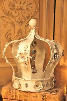 White Decorative Crown