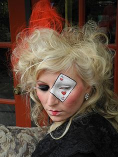 Queen Of Hearts Hair Ideas 1000+ images about Mak...