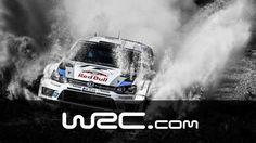 Sebastien Ogier und sein Co-Pilot Julien Ingrassa in ihrem Volkswagen Polo R WRC in Slow Motion!
