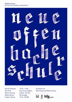 Die Neue Offenbacher Schule | Slanted - Typo Weblog und Magazin