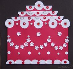 Cards ,Crafts ,Kids Projects: Sliding Cake Card Tutorial