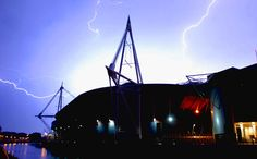 Millennium Stadium - home of electrifying atmosphere! Millennium Stadium, Opera House, Building, Travel, Viajes, Buildings, Destinations, Traveling, Trips
