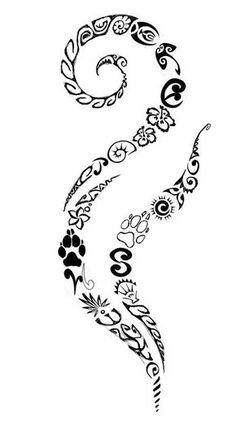 Professional tattoos - from design and draft of the motif to implementation . - maori tattoos - Professional tattoos from design and draft of the motif to implementation - Tattoos Bein, Body Art Tattoos, Small Tattoos, Tatoos, Hawaiianisches Tattoo, Tattoo Choker, Tattoo Maori, Thai Tattoo, Samoan Tattoo