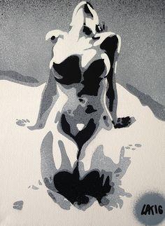 graffiti wall Nude women and