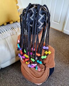 Little Girls Natural Hairstyles, Childrens Hairstyles, Kids Curly Hairstyles, Baby Girl Hairstyles, Curled Hairstyles, Braids For Kids, Toddler Braids, Little Girl Braids, Braid Styles For Girls