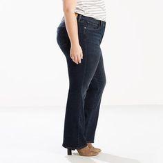 Levi's 415 Classic Boot Cut Jeans (Plus) - Women's 16M