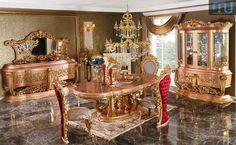 Meja Makan Di Jakarta Teak Wood, Dining Room Furniture, Jakarta, Hand Carved, Carving, Website, Luxury, Home Decor, Decoration Home