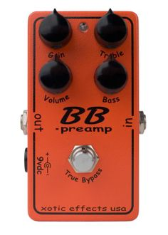 BB Preamp Distortion Pedal