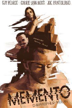 Memento (2000, Christopher Nolan).