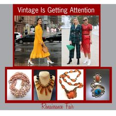 Vintage is Getting Attention by renaissance-fair on Polyvore featuring modern and vintage