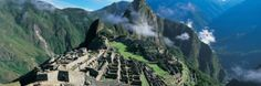 View of Ruins of Ancient Buildings, Inca Ruins, Machu Picchu, Peru Photographic Print by Panoramic Images at AllPosters.com