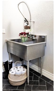 ... Laundry Rooms Pinterest Laundry Sinks, Home Depot and Sinks