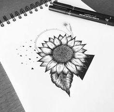 Luxury Sunflower Drawing Tumblr