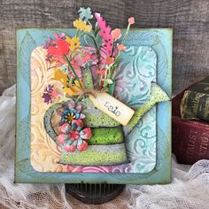 Nicole Wright Designs: Wildflowers 2 Thinlit
