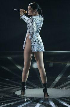 Jessie J VMAs outfit ❤ ℒℴvℯ