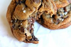 Nutella-Stuffed Brown Butter and Sea Salt Chocolate Chip Cookies | Tasty Kitchen: A Happy Recipe Community!