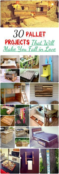 30 Pallet Projects That Will Make You Fall in Love | 99 Pallets