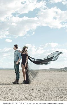 Edgy Bohemian Karoo Fashion | Engagement Shoot | Photography by Suzanne Swart Photography
