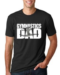 Gymnastics Dad Shirt, Gymnastics Shirt, Gymnastics Gift, Gifts For Him, Christmas Gift, Fathers Day Gift by TeeRificDesigns on Etsy https://www.etsy.com/listing/557055899/gymnastics-dad-shirt-gymnastics-shirt
