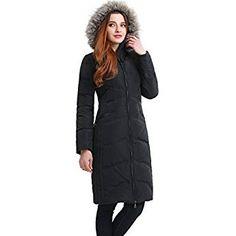 a7bef8936353 BGSD Women's Bonnie Waterproof Hooded Long Down Coat - L Steel Gray  Леопардовое Пальто, Верблюжье