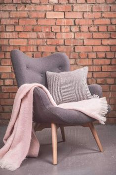 Foxford Woollen Mills Angel Chair offers pure comfort and stunning style. Add this chair to any room to finish off the look. Bedroom Chair, Bedroom Decor, Bedroom Ideas, Retro Dining Chairs, House Gifts, Bar Lounge, Quality Furniture, Contemporary Furniture, Home Furniture