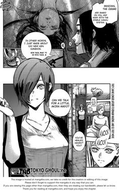 Tokyo Ghoul:re 119 Akira Mado & Touka Kirishima