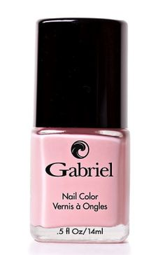 How to paint your nails pink.