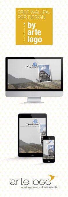 Free Wallpaper for Desktop, iPhone and iPad by arte-logo.de Free Download, Kalender 2016, selfmade, September, Löwen Denkmal Lauuterbach, Löwe, Fachwerk, Vogelsbergkreis, Hessen