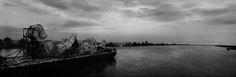 Josef Koudelka - Romania, The Danube delta region. Location shooting of the film 'Ulysse's Gaze' Magnum Photos, Slow Down, Prague, Danube Delta, Panoramic Photography, Photographer Portfolio, French Photographers, First Photograph, Romania