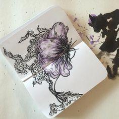 via bethwicker on Instagram  August 2015 ArtSnacks Challenge
