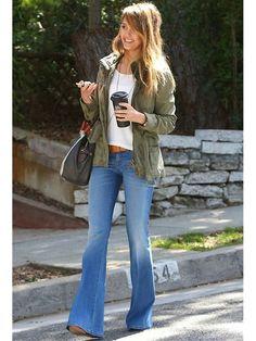 celebs flare leg jeans   Celebrity Jeans - Jeans As Seen on Your Favorite Celebrity