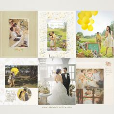 Prewedding Photobook of N&M