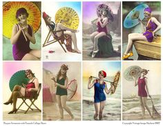 flapper swimsuits