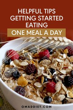 Top 10 Tips on Getting Started Eating One Meal a Day (Omad) Vegan Meal Plans, Diet Meal Plans, Bear Diet, Diet Recipes, Vegan Recipes, One Meal A Day, Fruit Diet, Healthy Life, Meal Planning