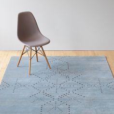 Linie Design Sparkler Aqua Rug | Patterned Rugs | Rugs | Living Room | Heal's