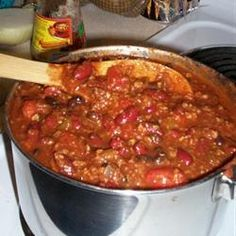 baked bean chili option: Slow Cooker Bean Casserole AKA Sweet Chili ...