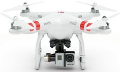 The new DJI Phantom 2 takes the GoPro cam and has a built-in stabilizing gimbal, no hacking required. Cool! http://www.adventure-journal.com/2014/01/saw-it-liked-it-dji-phantom-2-helicopter/