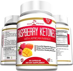 Raspberry Ketones Weight Loss Supplement - Plus African Mango and Green Tea Extract - Natural Ultra Potent Thermogenic Fat Burner Promotes Appetite Control, Boosts Energy and Healthy Metabolism, 500MG Per Serving, 60 Veggie Capsules - Made in USA Island Vibrance http://www.amazon.com/dp/B00CPPS3ZC/ref=cm_sw_r_pi_dp_x6l5wb1B2AARR