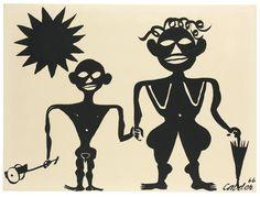 Alexander Calder (1898-1976)   African Scene   1960s, Paintings   Christie's